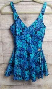 Maxine of Hollywood vintage swimwear dress size 14